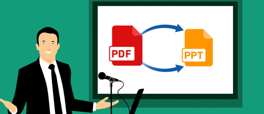 A Simple Way To Turn PDF Files Into PPT Online: PDF to PPT With PDFBear